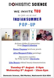 Domestic Science - Popup Invitation - 4-5Aug2015-page-001